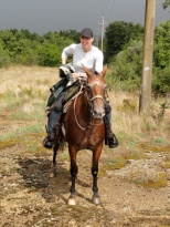 Riding the Etruscan Trail.