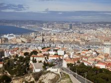 Uitzicht Marseille
